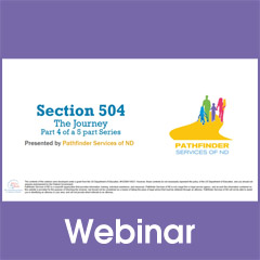 Section 504 - The Journey: Section 504 Plan (Part 4)
