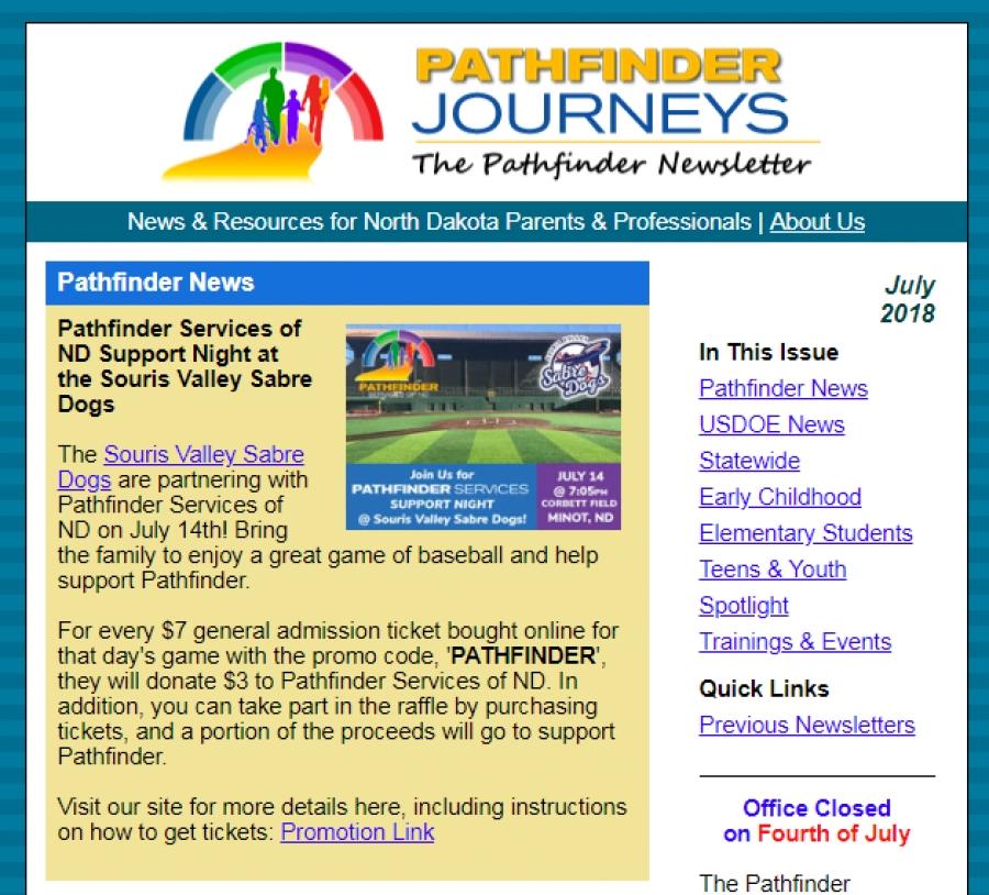 Pathfinder Journeys - July 2018